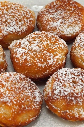 Fried Chinese Buffet Donuts