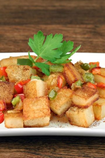 Home Fries with Onions and Peppers