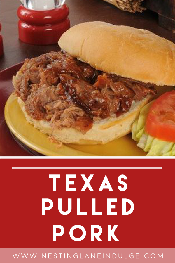 Slow Cooker Texas Style Pulled Pork