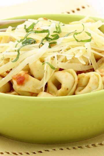 Quick and Easy Balsamic Cheese Tortellini