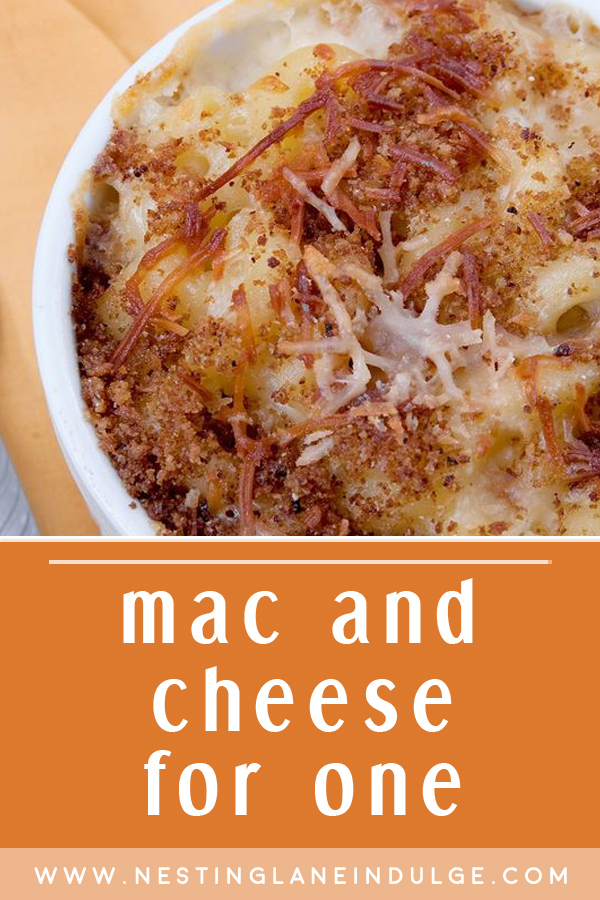 Single Serving Macaroni and Cheese