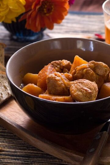 Butternut Squash and Beef Stew