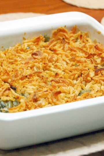 Quick and Easy Green Bean Casserole